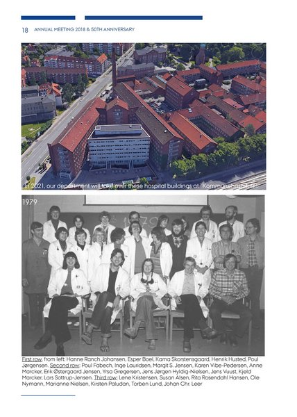 Fifty Years Of Molecular Biology At Aarhus University A Brief Department History